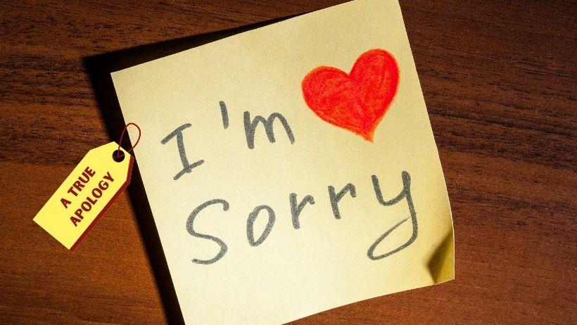 A True Apology